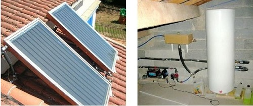 panneaux solaires chauffage