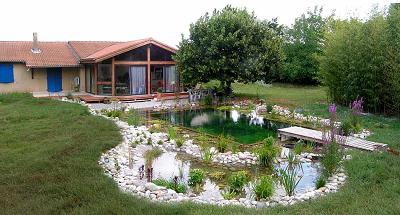 Construire un Etang de Baignade Paysagé - Piscine Naturelle