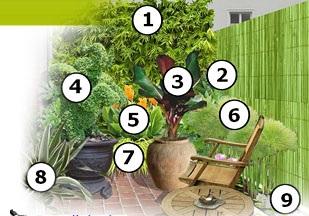 plan d un petit jardin tha eco ecolo pour ecologie bien etre bio et la sant au naturel. Black Bedroom Furniture Sets. Home Design Ideas